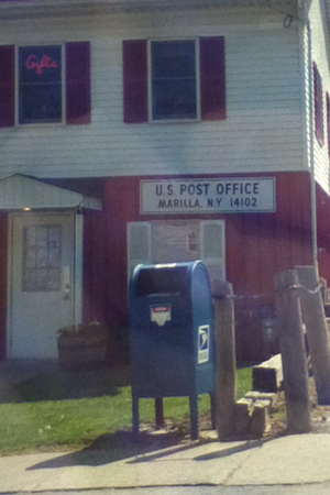 Marilla, New York - Image: Marilla Post Office