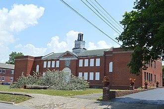 Crittenden County Schools - Former high school in Marion