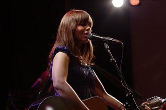Don't Say You Love Me (M2M song) - Image: Marit Larsen at Het Paradiso Amsterdam (5)