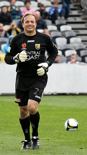 Mark Bosnich - Bosnich playing for the Central Coast Mariners in 2008