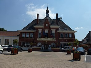 Marly (Nord, Fr) mairie.JPG