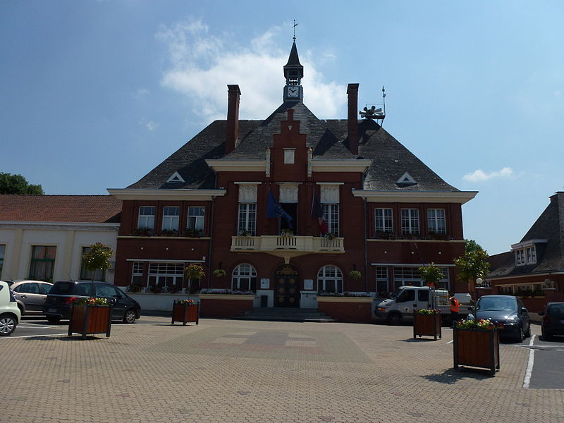 Marly (Nord, Fr) mairie