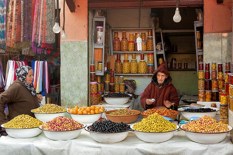 File:Marrakech olives merchant.jpg