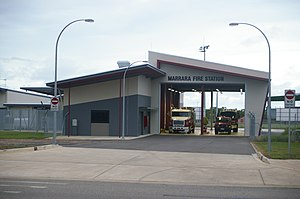 Northern Territory Fire and Rescue Service - Marrara Fire Station