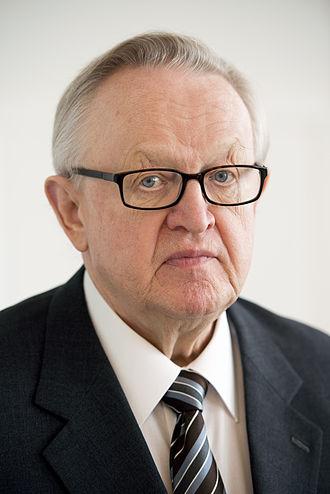 President of Finland - Image: Martti Ahtisaari, tidigare president Finland och mottagare av Nobels fredrspris (2)