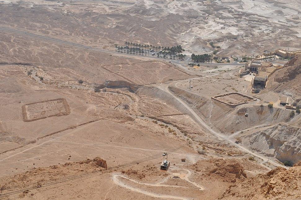 Masada, camps A, B and C - katsniffen