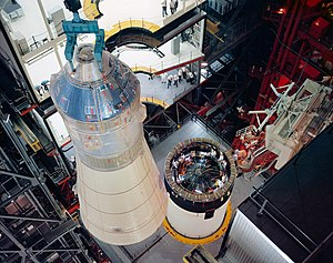 Mating of Apollo 8 spacecraft with Saturn-V.jpg