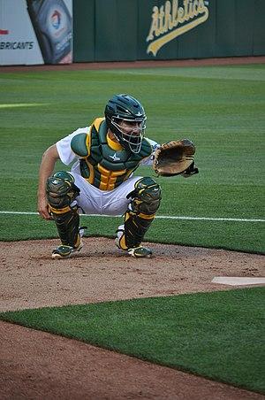 Matt McBride - McBride with the Oakland Athletics