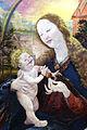 Matthias Grünewald Stuppacher Madonna (Detail) Maria reicht Jesuskind einen Granatapfel.jpg