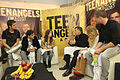 """Mauricio Macri y los Teen Angels por la """"Ciudad Verde"""" (7686717242).jpg"""