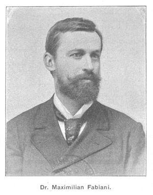 Max Fabiani - Fabiani in 1902