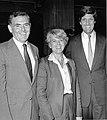 Mayor Raymond L. Flynn, Vice-Presidential candidate Geraldine Ferraro, Senate candidate John Kerry (9519694922).jpg