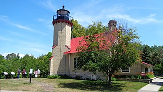 McGulpin Point Light lighthouse in Michigan, United States