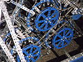 Meccano Motorcycle made for James May's Toy Stories - motor detail.JPG