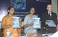 "Meira Kumar releasing the Monograph ""Drug Use in the North-Eastern States of India"" in collaboration with the United Nations Office on Drugs and Crime, in New Delhi. The Minister of State for Social Justice and Empowerment.jpg"