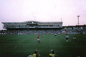 Memorial Stadium (Bristol) - Bristol Rovers v Manchester United at the Memorial Stadium, 1999