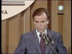 Archivo:Menem.Bush.1990.ogv