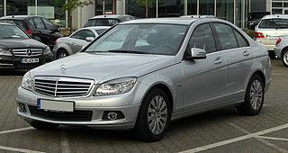 Mercedes-Benz C-Class (W204) Car model