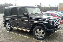 Mercedes-Benz G 400 CDI Limited Edition black.jpg