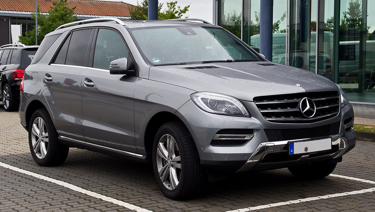 Mercedes benz m class wikipedia for Mercedes benz ml series