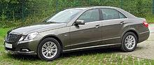 Mercedes E 350 CDI BlueEFFICIENCY Elegance (W212) front 20100822.jpg