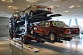 Mercedes truck with classic cars (9654255155).jpg