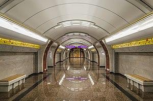 Станция метро международная схема