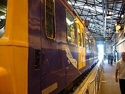 Metrocar 4045, Tyne and Wear Metro depot open day, 8 August 2010 (2).jpg