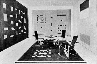 Bart van der Leck - Image: Metz & Co showroom 001