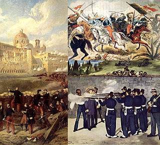 Second French intervention in Mexico invasion of Mexico, launched in late 1861, by the Second French Empire