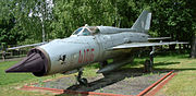 MiG-21PFM, Polish Air Force, markings of 10th Fighter Regt.