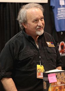 Stackpole at the 2017 Phoenix Comicon