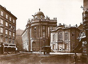Burgtheater - The old Burgtheater (before 1888)