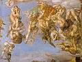 Michelangelo, giudizio universale, dettagli 38.jpg