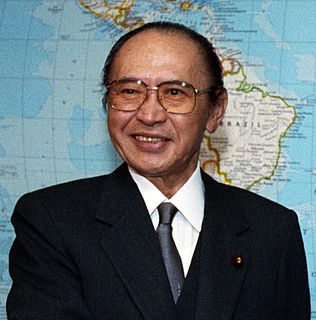 Michio Watanabe Japanese politician