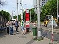 Michle, U plynárny, rekonstrukce TT, zastávka Chodovská, informátor.jpg