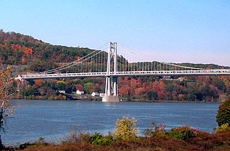 Mid-Hudson Bridge - Image: Mid Hudson Bridge