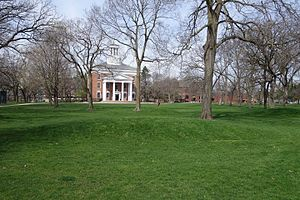 Beloit College - Middle College overlooking the Beloit campus