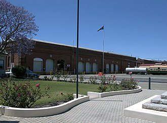 Midland Railway Workshops - Midland Railway Workshops in 2005