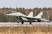 Mig-29 on landing