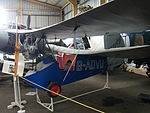 Mignet HM.14 Flying Flea G-ADVU, NELSAM, 27 June 2015.JPG