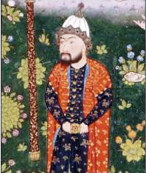 Mehrab Kaboli - painting of Mihrab in the Shahnama of Shah Tahmasp