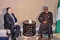 Mike Pompeo with Muhammadu Buhari in New York City - 2018 (44974167761).jpg