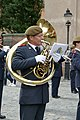 Military orchestra in front of the Stockholm Palace 14.jpg