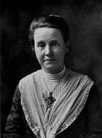 Mud March (suffragists) - Millicent Garrett Fawcett of the National Union of Women's Suffrage Societies (NUWSS)