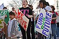 Milwaukee Public School Teachers and Supporters Picket Outside Milwaukee Public Schools Adminstration Building Milwaukee Wisconsin 4-24-18 1089 (27863921828).jpg