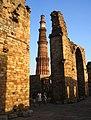 Minar and the broken gate.jpg