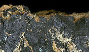 Psilomelane (manganese ore)