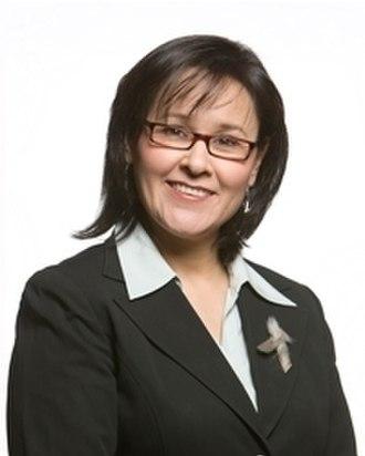Leona Aglukkaq - Image: Minister Leona Aglukkaq