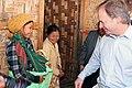 Minister Swire in Kachin State, Burma (12219205955).jpg